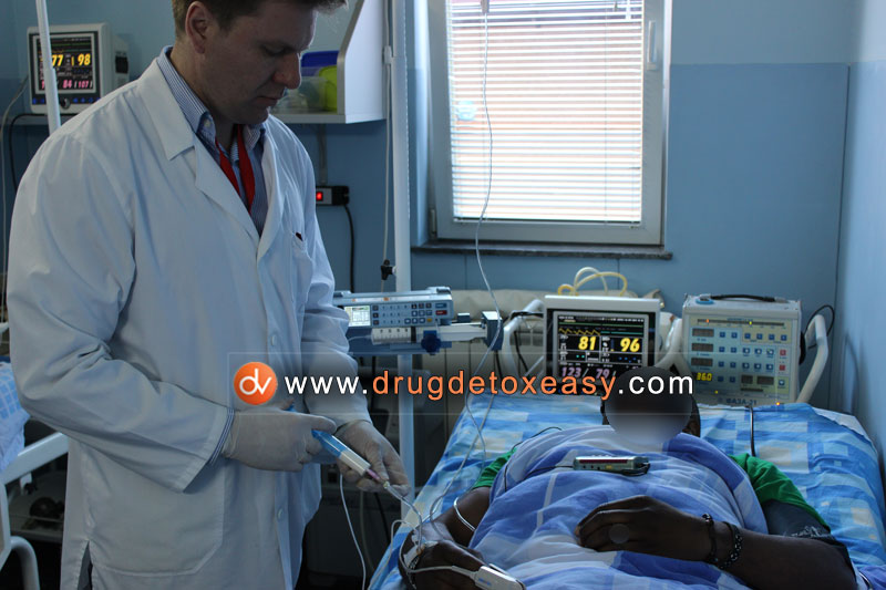 painless drug detox clinic Dr Vorobiev