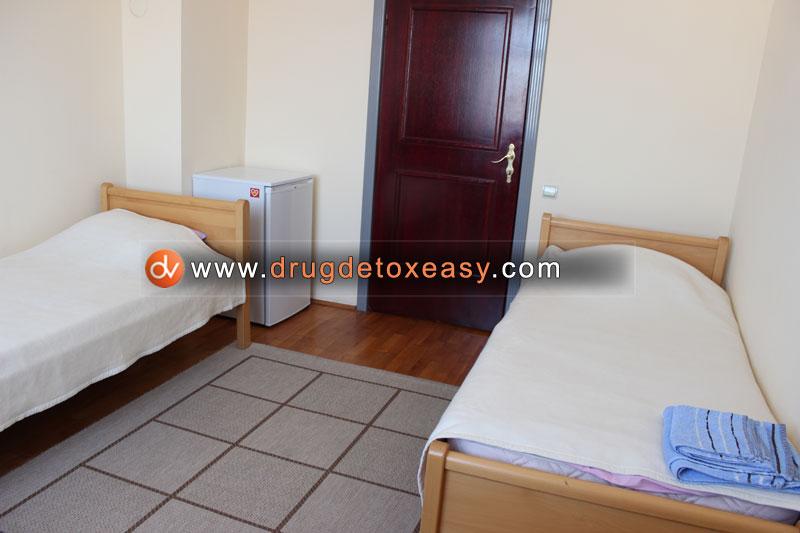 room at dr vorobiev drug detox clinic